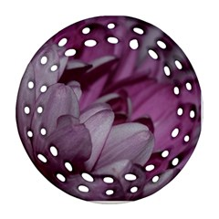 Purple! Ornament (round Filigree)