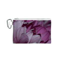 Purple! Canvas Cosmetic Bag (S)