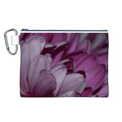 Purple! Canvas Cosmetic Bag (l)