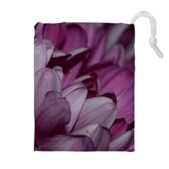 Purple! Drawstring Pouch (XL)