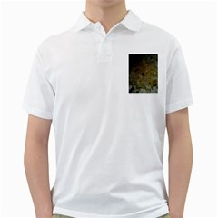 Yellow Flower Golf Shirts