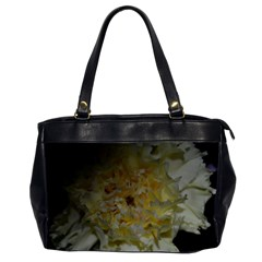Yellow Flower Office Handbags (2 Sides)