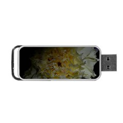 Yellow Flower Portable USB Flash (One Side)