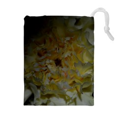 Yellow Flower Drawstring Pouch (xl)