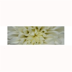 White Flowers Large Bar Mats