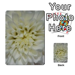 White Flowers Multi-purpose Cards (Rectangle)
