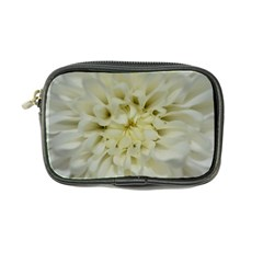 White Flowers Coin Purse