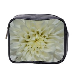 White Flowers Mini Toiletries Bag 2-Side