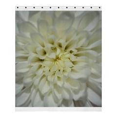 White Flowers Shower Curtain 60  X 72  (medium)