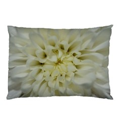 White Flowers Pillow Cases (Two Sides)