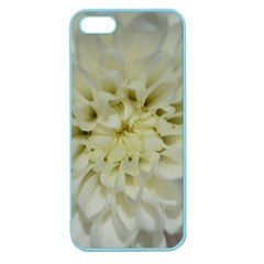 White Flowers Apple Seamless iPhone 5 Case (Color)
