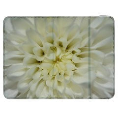White Flowers Samsung Galaxy Tab 7  P1000 Flip Case