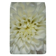 White Flowers Flap Covers (L)