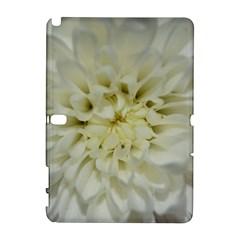 White Flowers Samsung Galaxy Note 10.1 (P600) Hardshell Case