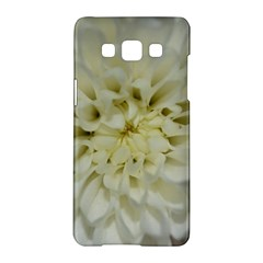 White Flowers Samsung Galaxy A5 Hardshell Case