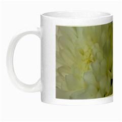 White Flowers 2 Night Luminous Mugs