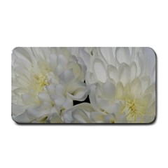 White Flowers 2 Medium Bar Mats