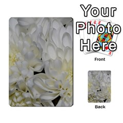 White Flowers 2 Multi-purpose Cards (Rectangle)