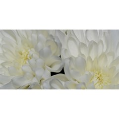 White Flowers 2 YOU ARE INVITED 3D Greeting Card (8x4)