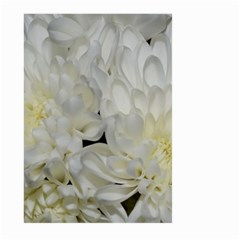 White Flowers 2 Large Garden Flag (two Sides)