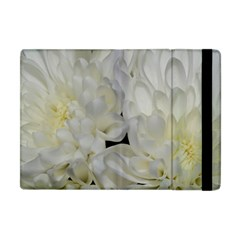 White Flowers 2 Apple iPad Mini Flip Case