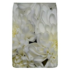 White Flowers 2 Flap Covers (S)