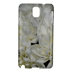White Flowers 2 Samsung Galaxy Note 3 N9005 Hardshell Case