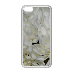 White Flowers 2 Apple iPhone 5C Seamless Case (White)