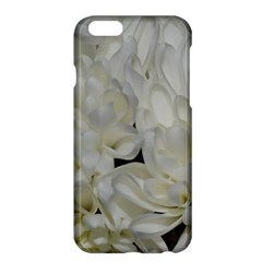 White Flowers 2 Apple iPhone 6 Plus/6S Plus Hardshell Case