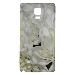 White Flowers 2 Galaxy Note 4 Back Case