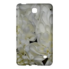 White Flowers 2 Samsung Galaxy Tab 4 (8 ) Hardshell Case
