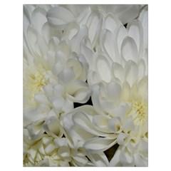 White Flowers 2 Drawstring Bag (Large)