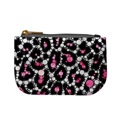 Pink Cheetah Bling Coin Change Purse