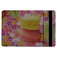 Macaroons And Floral Delights Ipad Air Flip