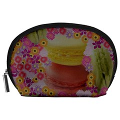 Macaroons and Floral Delights Accessory Pouches (Large)