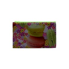 Macaroons And Floral Delights Cosmetic Bag (xs)