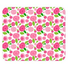 Rose Garden Double Sided Flano Blanket (Small)