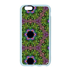 Repeated Geometric Circle Kaleidoscope Apple Seamless iPhone 6/6S Case (Color)