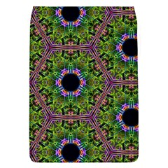 Repeated Geometric Circle Kaleidoscope Flap Covers (L)