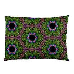 Repeated Geometric Circle Kaleidoscope Pillow Cases (two Sides)