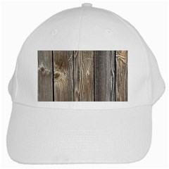 Wood Fence White Cap