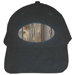 Wood Fence Black Cap