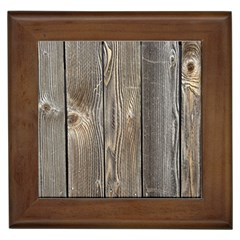 Wood Fence Framed Tiles