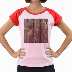 Wood Fence Women s Cap Sleeve T Shirt
