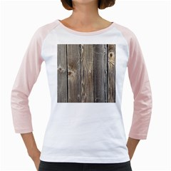 Wood Fence Girly Raglans
