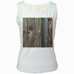 Wood Fence Women s Tank Tops