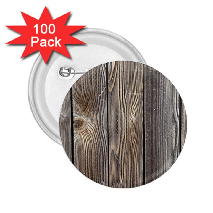 WOOD FENCE 2.25  Buttons (100 pack)