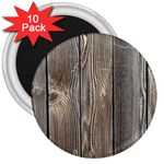 WOOD FENCE 3  Magnets (10 pack)  Front