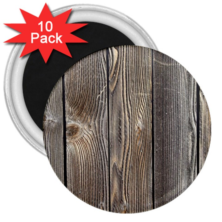 WOOD FENCE 3  Magnets (10 pack)