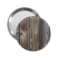 Wood Fence 2 25  Handbag Mirrors